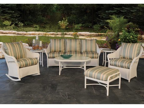 Lloyd Flanders Freeport Wicker Lounge Set