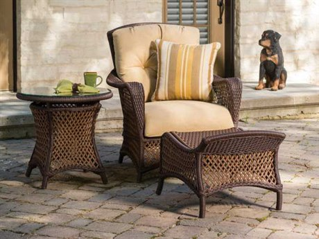 Lloyd Flanders Grand Traverse Wicker Lounge Set