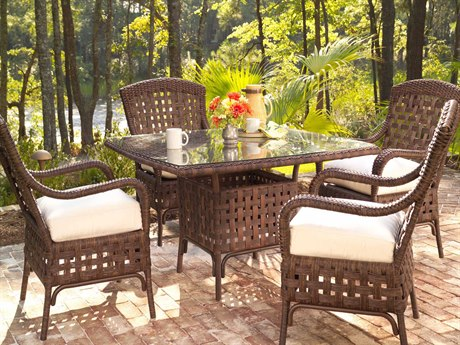 Haven Wicker Dining Set