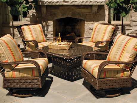 Lloyd Flanders Haven Wicker Lounge Set LFHAVWR