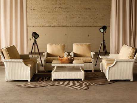 Lloyd Flanders Hamptons Wicker Conversation Set