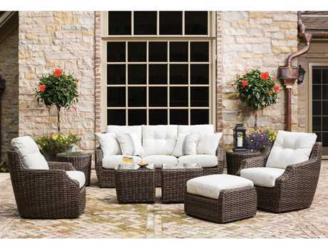 Lloyd Flanders Largo Wicker Lounge Set
