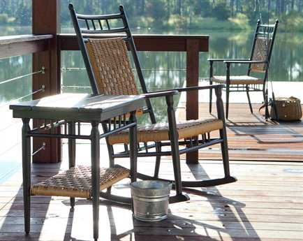 Lloyd Flanders Low Country Aluminum Lounge Set LFLOWLRH