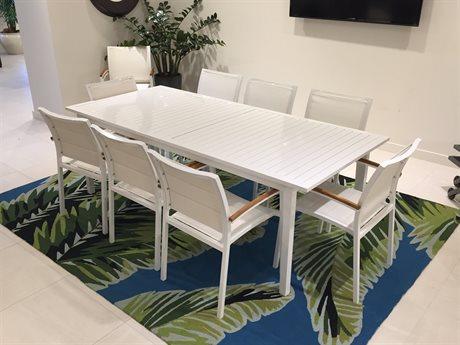 Lloyd Flanders Lux Aluminum Dining Set