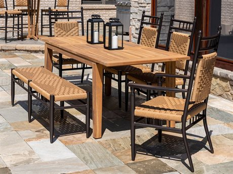 Lloyd Flanders Low Country Wicker Dining Set
