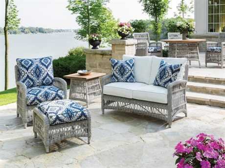 Mackinac Wicker Lounge Set