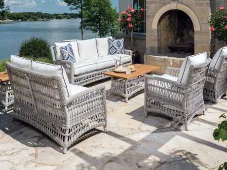 Lloyd Flanders Mackinac Wicker Lounge Set