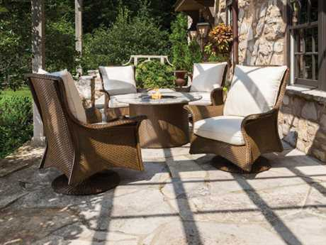 Lloyd Flanders Mandalay Wicker Dining Set