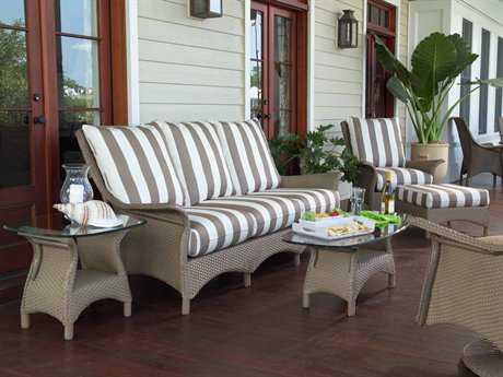 Lloyd Flanders Mandalay Wicker Cushion Lounge Set