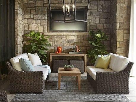 Lloyd Flanders Mesa Wicker  Lounge Set
