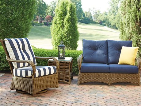 Lloyd Flanders Magnolia Wicker Lounge Set