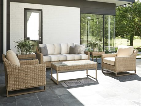 Lloyd Flanders Milan Wicker Lounge Set