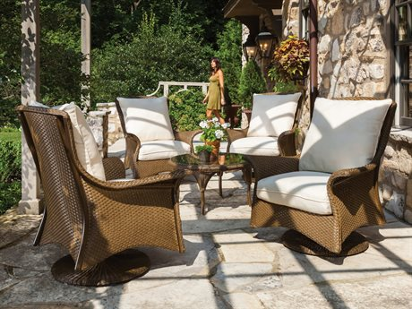 Lloyd Flanders Mandalay Wicker Lounge Set