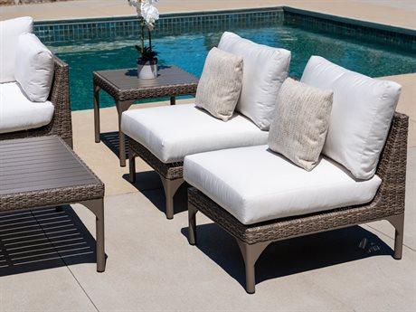 Lloyd Flanders Martinique Wicker Lounge Set
