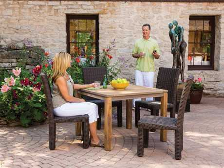 Lloyd Flanders Mesa Wicker Dining Set
