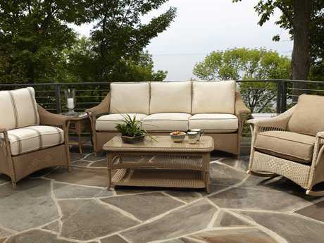 Lloyd Flanders Nantucket Wicker Lounge Set LFNANLG2