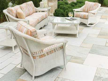 Lloyd Flanders Nantucket Wicker Lounge Set