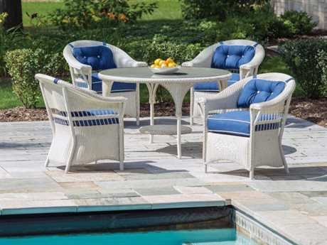 Lloyd Flanders Nantucket Wicker Dining Set