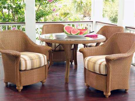 Lloyd Flanders Oxford Wicker Dining Set