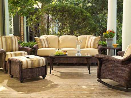 Lloyd Flanders Oxford Wicker Lounge Set LFOXFLG1