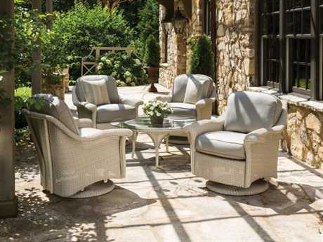 Lloyd Flanders Oxford Wicker Lounge Set