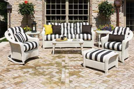 Lloyd Flanders Reflections Wicker Lounge Set LFREFLLOUNGESET3