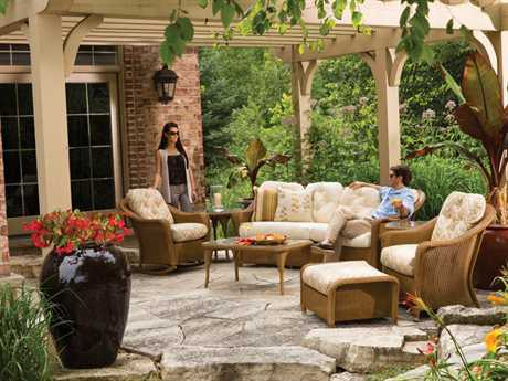 Lloyd Flanders Reflections Wicker Lounge Set LFREFLLOUNGESET7