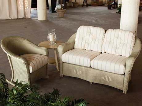 Lloyd Flanders Reflections Wicker Lounge Set