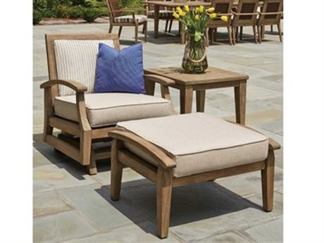 Lloyd Flanders Wildwood Teak Lounge Set