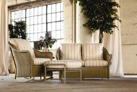Lloyd Flanders Weekend Retreat Wicker Lounge Set
