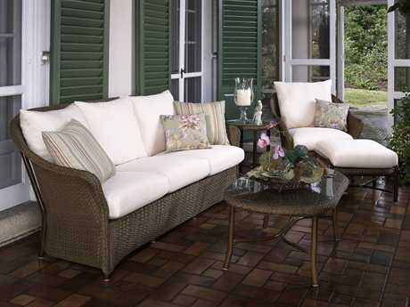 Lloyd Flanders Weekend Retreat Wicker Lounge Set LFWRTLS