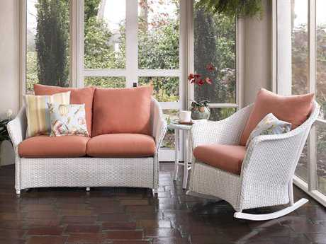 Lloyd Flanders Weekend Retreat Wicker Lounge Set LFWRTLSC