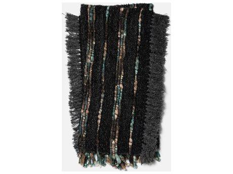 Loloi Rugs Aida 4'2 x 5' Charcoal Throw (Sold in 4)