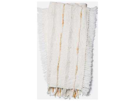 Loloi Rugs Aida 4'2 x 5' Ivory Throw (Sold in 4)