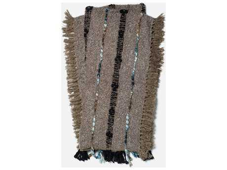 Loloi Rugs Aida 4'2 x 5' Taupe Throw (Sold in 4)