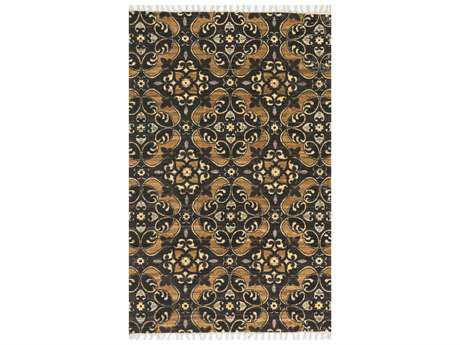 Loloi Rugs Aria HAR02 Brown / Gold Area Rug