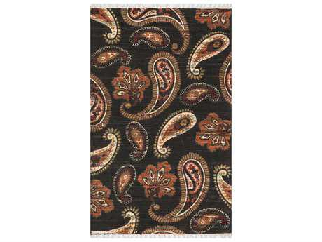 Loloi Rugs Aria HAR08 Rectangular Chocolate / Rust Area Rug