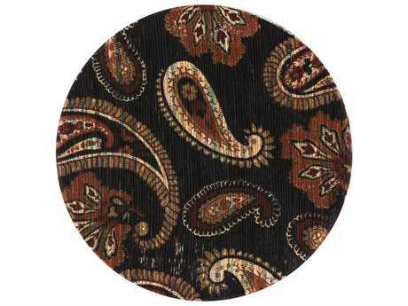 Loloi Rugs Aria HAR08 3'0'' Round Chocolate / Rust Area Rug