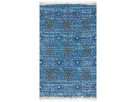 Loloi Rugs Aria HAR09 Rectangular Blue Area Rug