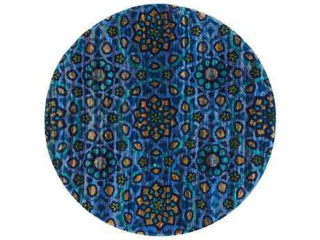 Loloi Rugs Aria HAR09 3'0'' Round Blue Area Rug