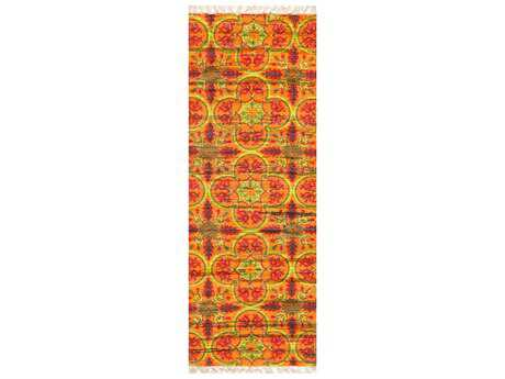 Loloi Rugs Aria HAR13 1'9'' X 5' Orange / Multi Runner Rug