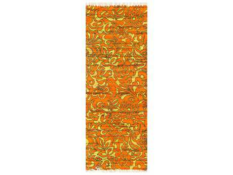 Loloi Rugs Aria HAR14 1'9'' X 5' Orange / Lime Runner Rug