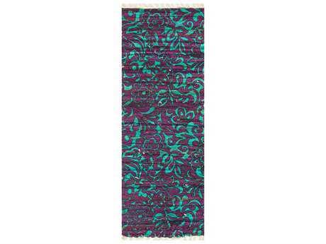 Loloi Rugs Aria HAR14 1'9'' X 5' Purple / Turquoise Runner Rug