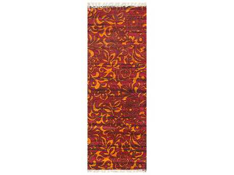 Loloi Rugs Aria HAR14 1'9'' X 5' Red / Orange Runner Rug