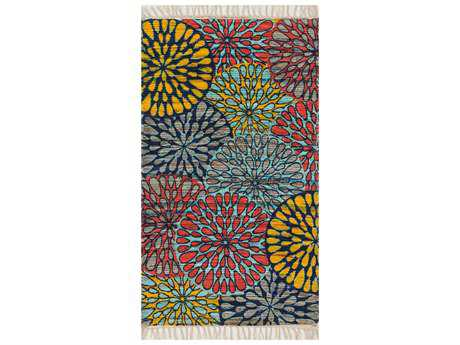 Loloi Rugs Aria HAR19 Light Blue / Multi Area Rug