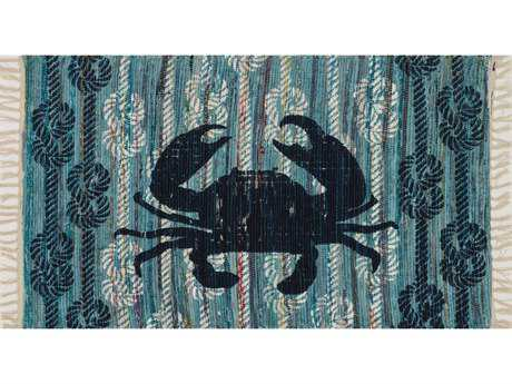 Loloi Rugs Aria HAR21 2'3'' x 3'9'' Rectangular Light Blue / Navy Area Rug