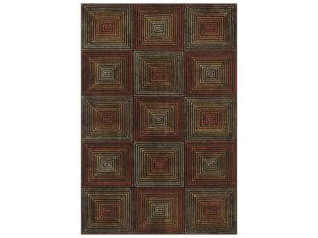 Loloi Rugs Boca BH-01 Rectangular Brown / Multi Area Rug