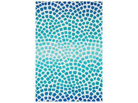 Loloi Rugs Cassidy HCD09 Rectangular Aqua / Blue Area Rug