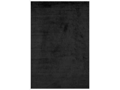Loloi Rugs Danso Shag DA-04 Rectangular Black Area Rug