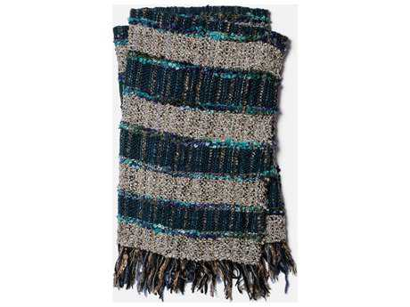 Loloi Rugs Demi 4'2 x 5' Blue & Multi-Color Throw (Sold in 4)